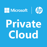 Private cloud Microsoft HP