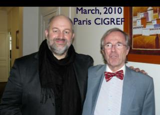 Louis Naugès et Werner Vogels mars 2010 Cigref