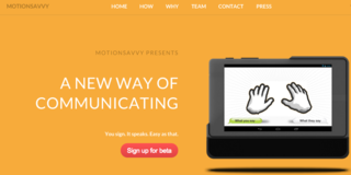 MotionSavvy, LeapMotion for deafs