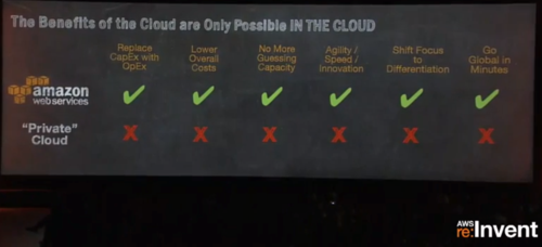 AWS re-invent 2013-Public vs Private Cloud
