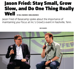 Interview Jason Fried Basecamp