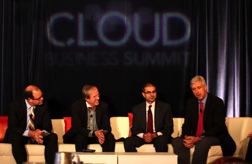Louis at Cloud Business Summit S
