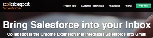 Collabspot HP Salesforce