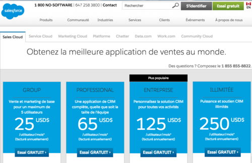 Prix SF.com France