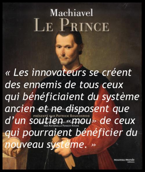 Machiavel - Le prince vertical