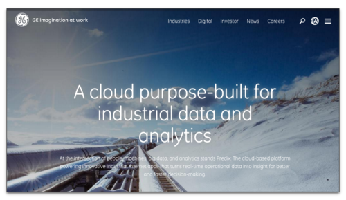 GE Cloud Predix HP