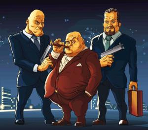 DPC Mafia three men S 103435177