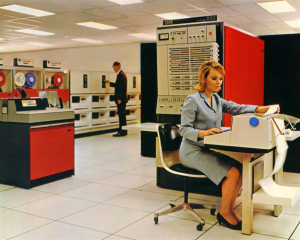 Old IBM 360 Mainframe