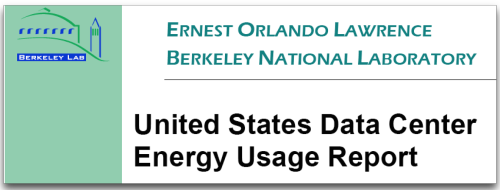 Berkeley study - US Energy Data Center