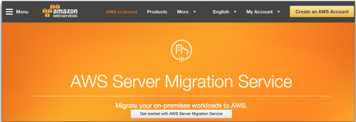AWS - SMS, Server Migration Services