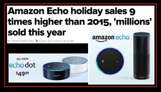 Amazon Echo Sales 2016