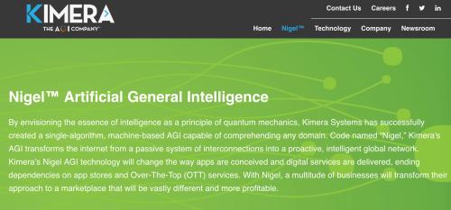 Kimera - the AGI company