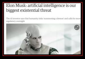 Elon Musk on AI threats