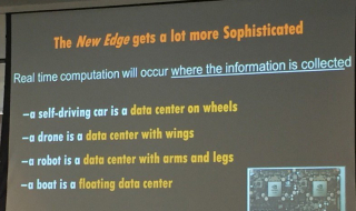 Edge computing - cars  boats & drones  robots