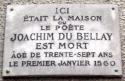 Plaque J du Bellay