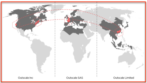 Map Data Centers Outscale