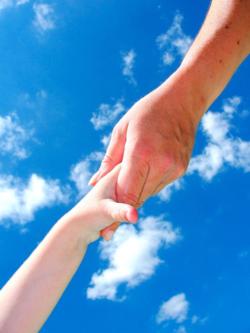 DPC two hands in cloud S 16128835