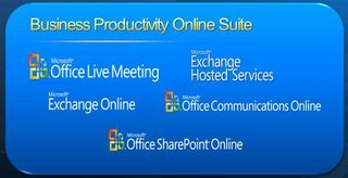 Microsoft BPOS logo