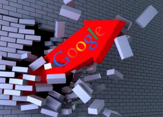 Google rupture Fléche Briques