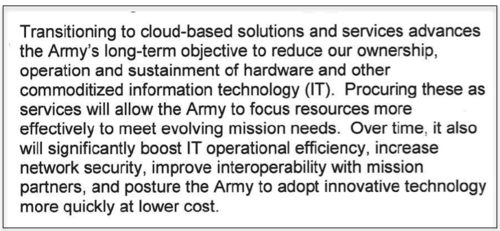 US Army Strategy objectives