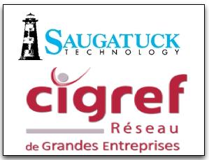 Logos Saugatuck & CIGREF