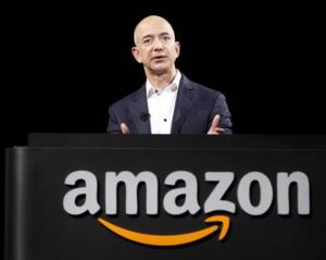 Jeff Bezos + logo