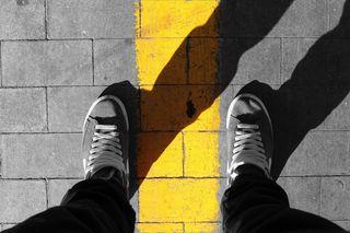 DPC Frontier Yellow line S 93320097