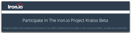 Kratos project - AWS Lambda compatible