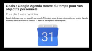 Google Goals ML