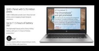 Chromebook HP 13 pouces