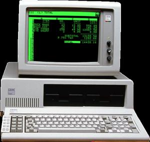 Old IBM PC