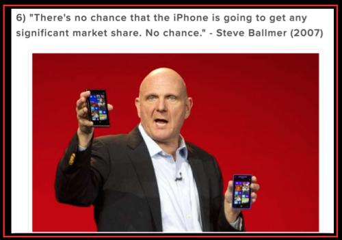 Ballmer iPhone no chance