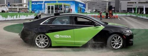 Nvidia automous car