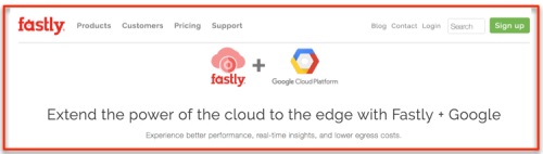 Fastly +GCP for Edge