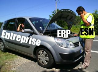 ERP voiture en panne