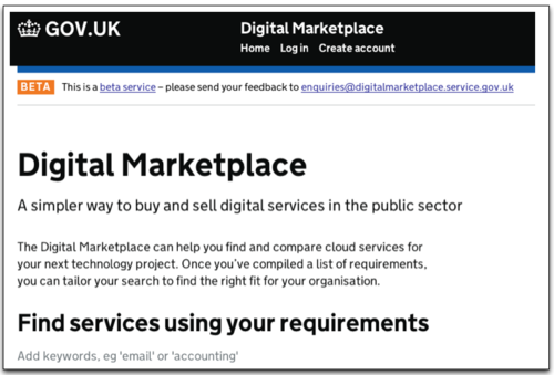 UK MarketPlace - Home Page