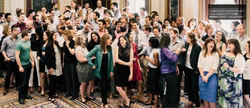 Obama 150 people IT team