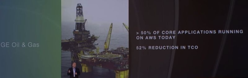 AWS Re-invent 2015 - GE Oil & Gas 52% reduction TCO