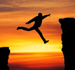 AdS DPC Gap Man jumping S 75298238