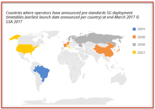 Map Tests 5G : continents