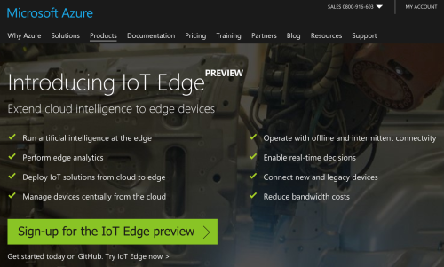Microsoft Azure IoT Edge
