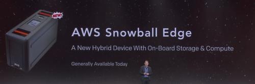 Re-invent 2016 Jassy - Snowball Edge compute