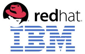 IBM-RedHat logos
