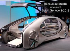Renault autonome Genève 3:2018