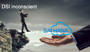 Man falling in SAP:4HANA