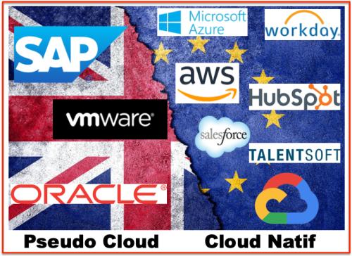 Pseudo Cloud - Cloud Natif fournisseurs