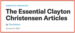 HBR Essentials on Christensen