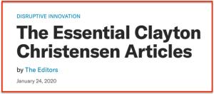 HBR Essentials on Christensen