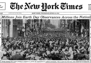 Earth Day 22 April 1970  New York Times