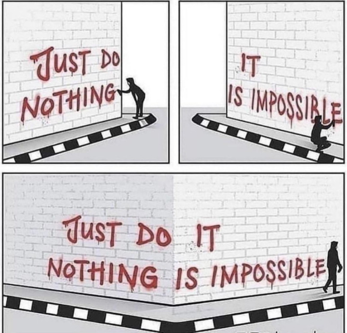 Just do nothing  its impossible 2